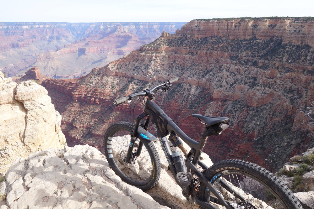 Santa Cruz Bronson 2, Grand Canyon, USA.