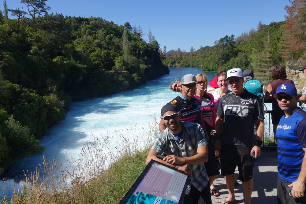 When in Rome... Huka Falls is a must see.