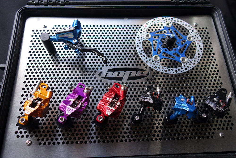 It's not often we punters get to see a full product line in our local bike shop so it's always a bonus to see flash distributor displays like this one from KRD.