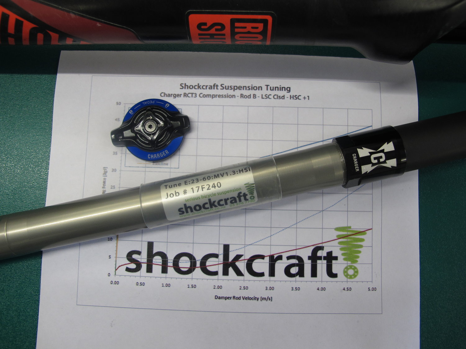 Shockcraft Suspension Matrix Tune for Pike — therodfather