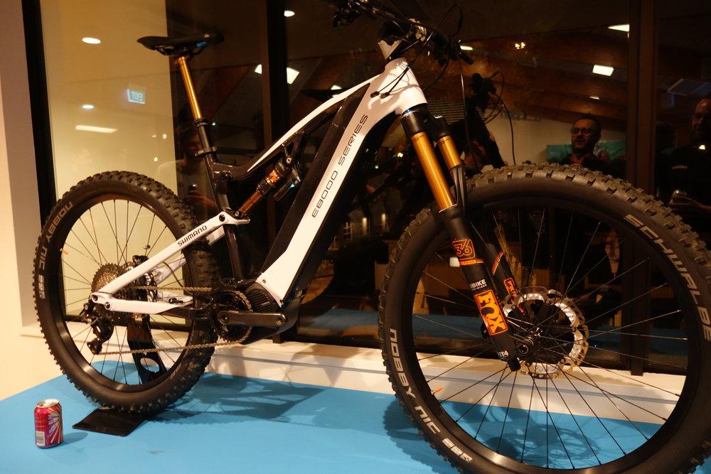 Shimano carbon e-bike
