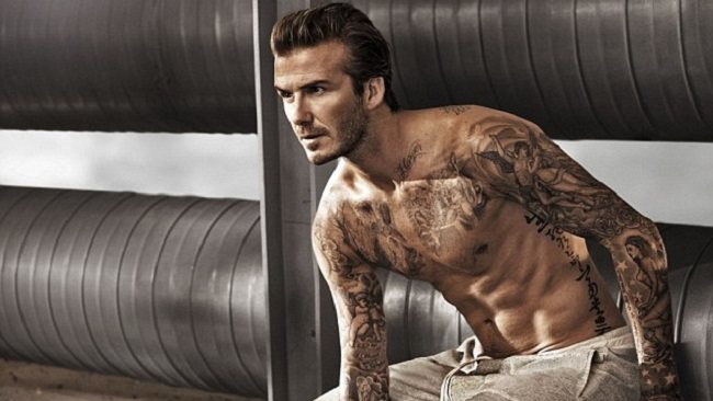 DAVID BECKHAM - Professional Soccer Player   http://www.marieclaire.co.uk/