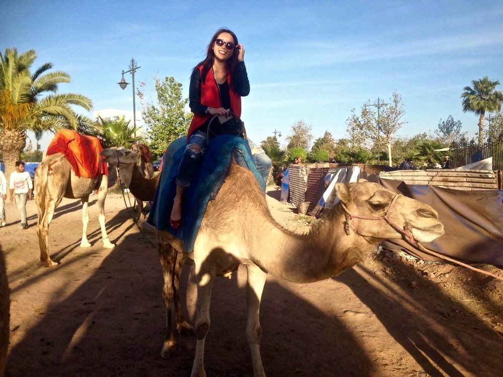 One of my favorite memories from Marrakech - riding a camel