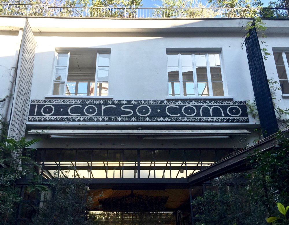 Corso Como - a trendy shopping and dining area