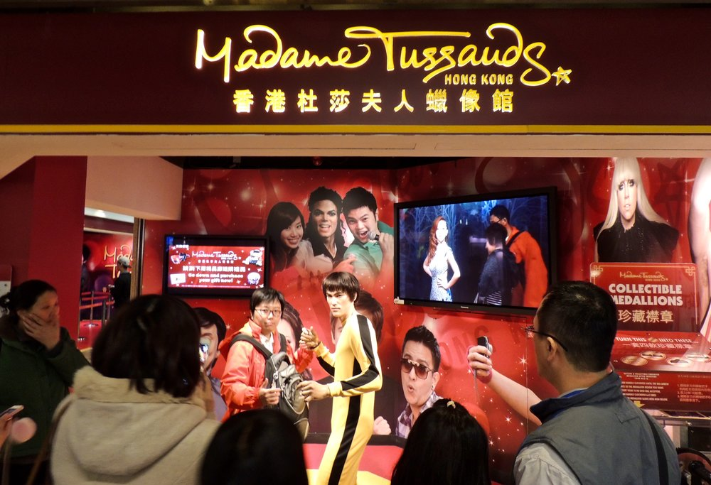 Stop by Madame Tussauds for some fun entertainment!
