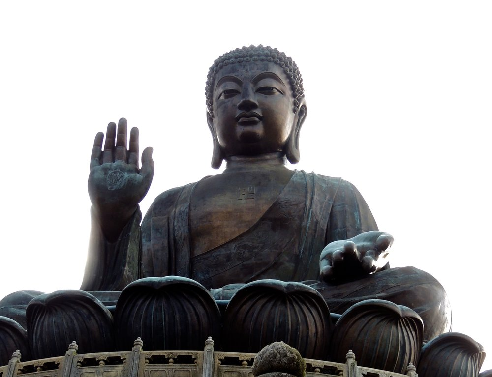To get up close and personal with Buddha, climb up the 268 steps