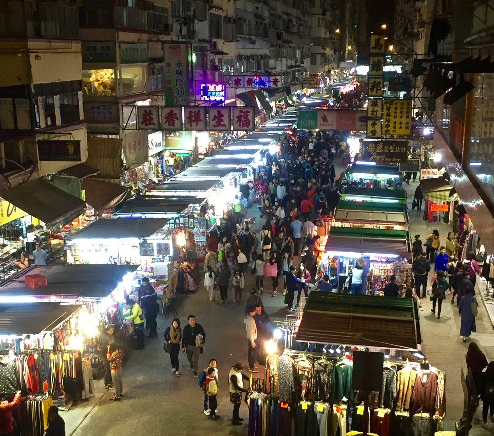Fa Yuen (Flower) Street Market