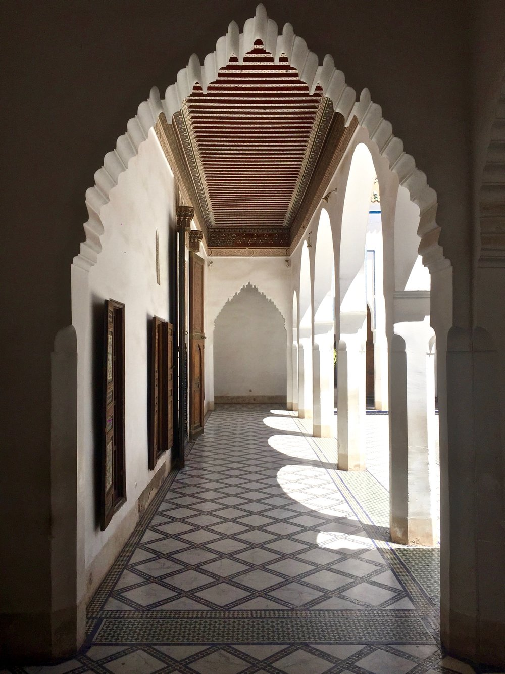 "Bahia Palace translates to ""brilliance"" and captures all the beauty of Moroccan-style decor"