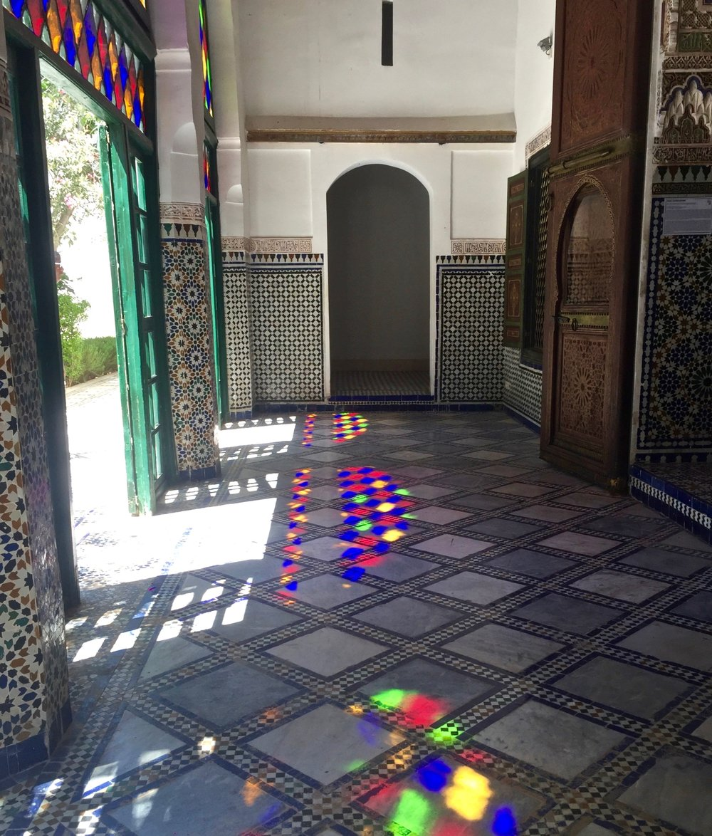 All the beautiful colors of Marrakech