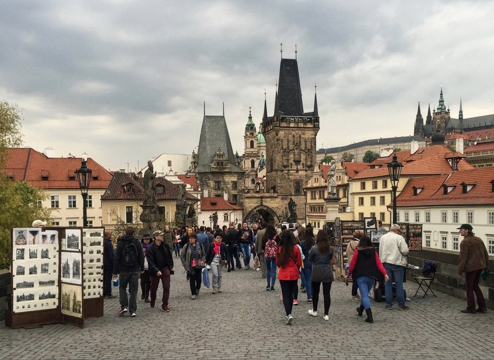 Charles Bridge - the oldest bridge in Prague