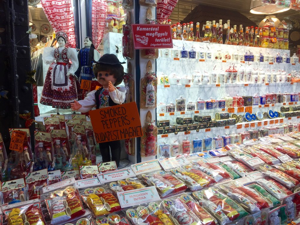 Pick up some paprika for souvenirs!