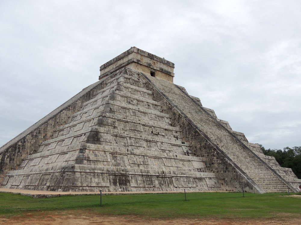 El Castillo, the main pyramid building
