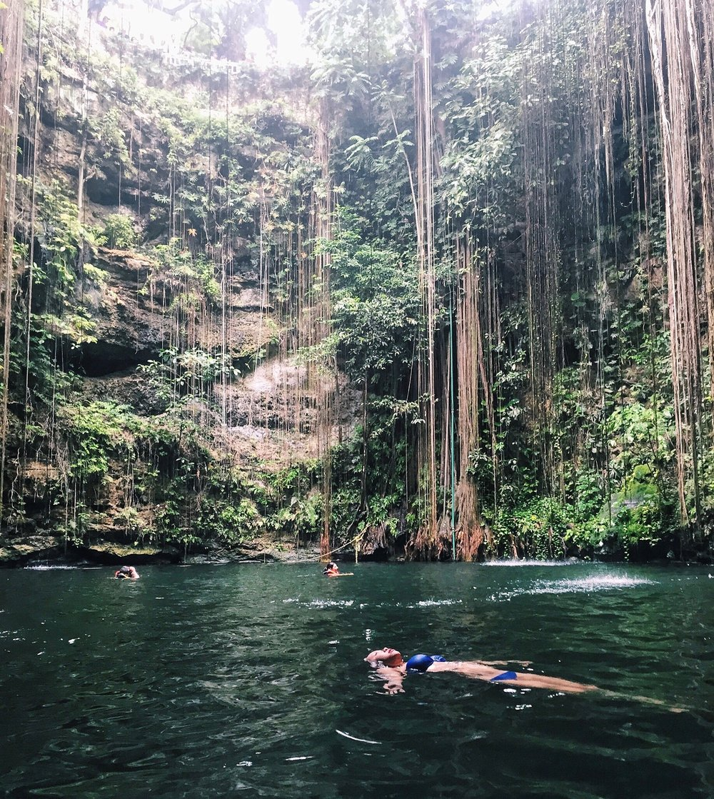 Cenotes are sacred to the Mayans, who use them for rituals and relaxation.