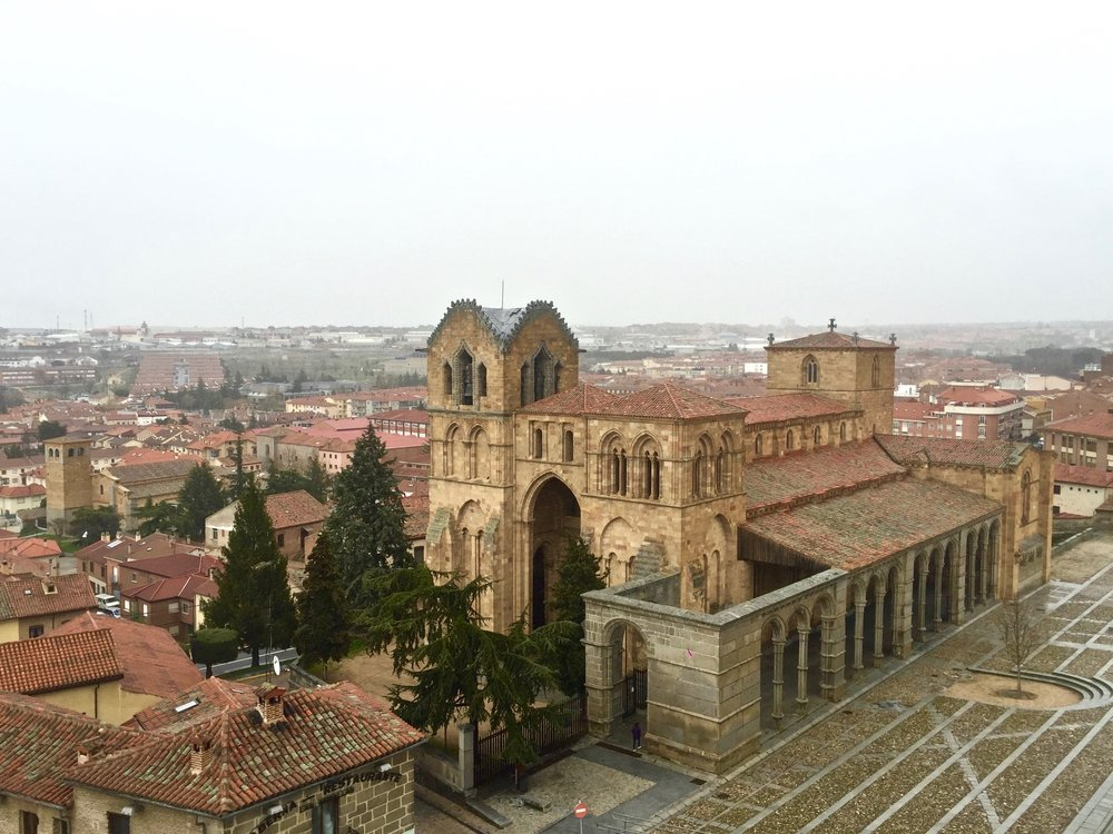 Basilica de San Vicente is an excellent example of Romanesque architecture
