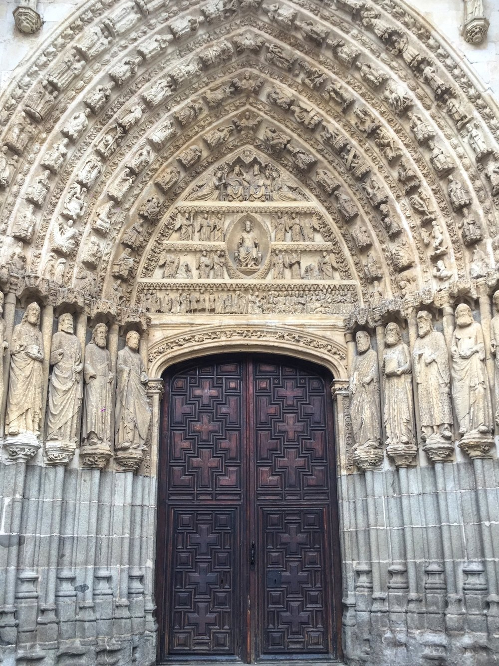 Facade of the cathedral
