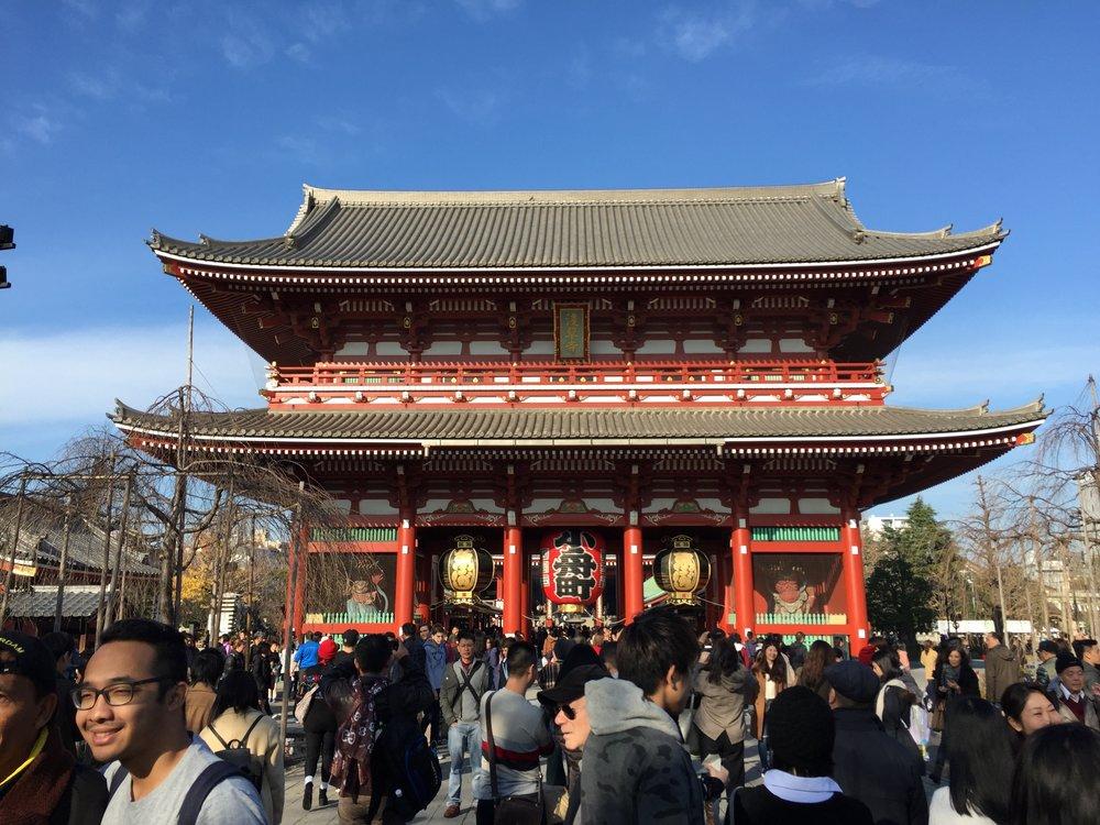 Senso-ji Temple - oldest temple in Tokyo
