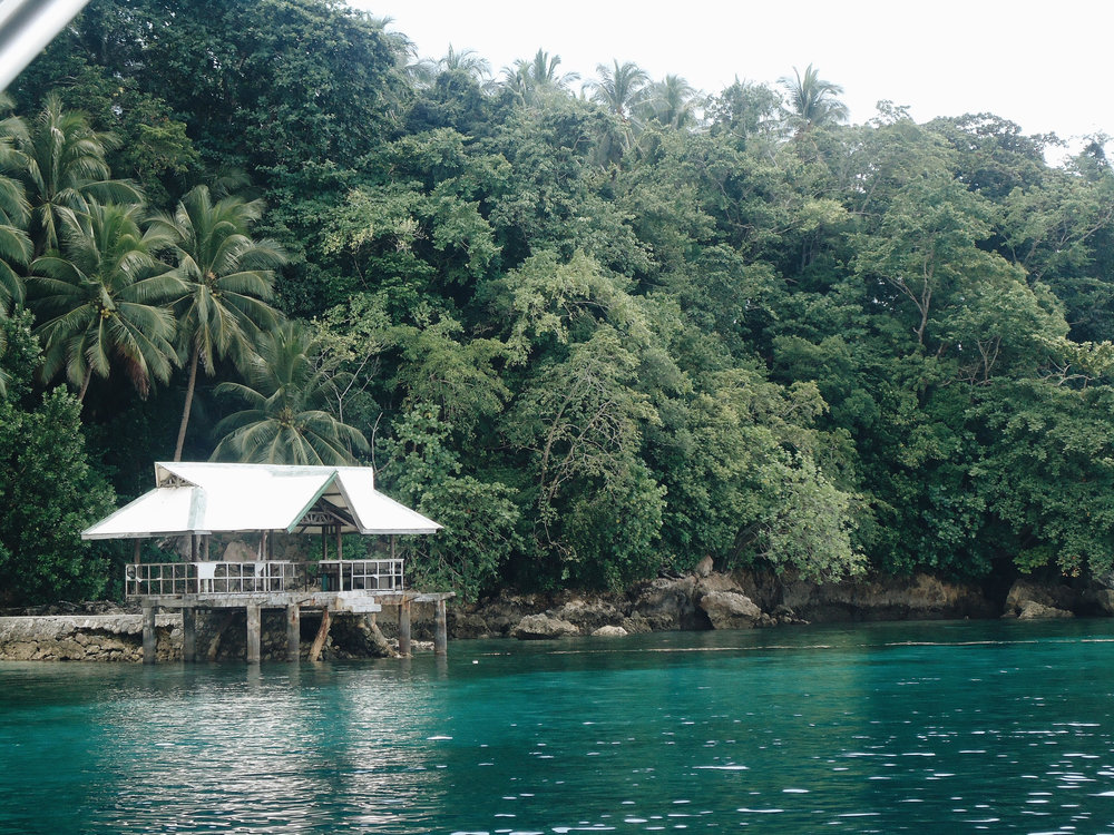 Scuba diving spot in Samal Island
