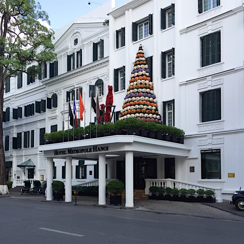 The famous Sofitel Legend Metropole Hotel