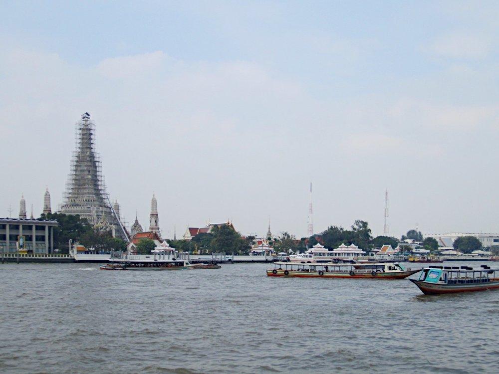 Wat Arun & Chao Phraya River