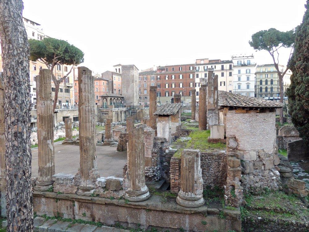 Curia of Pomey - location where Julius Caesar was murdered
