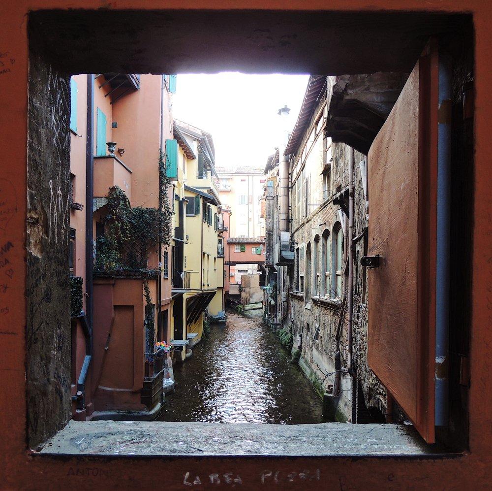 Get a little glimpse of Venice through Bologna!