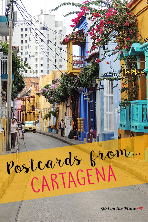 Postcards from Cartagena