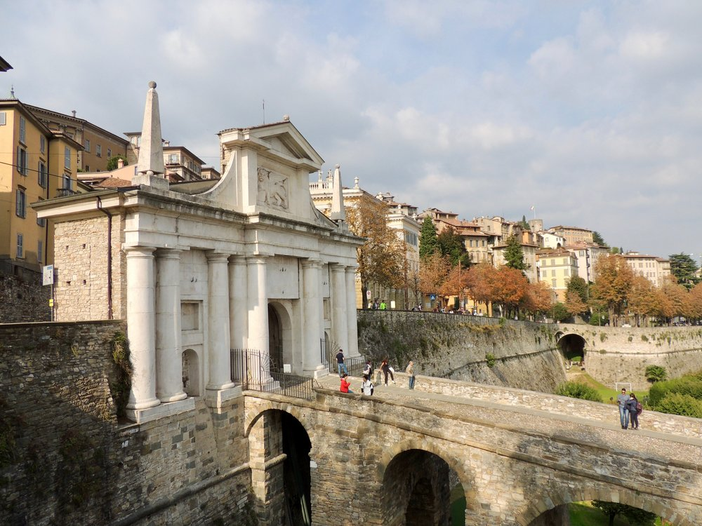 Venetian Walls of Bergamo