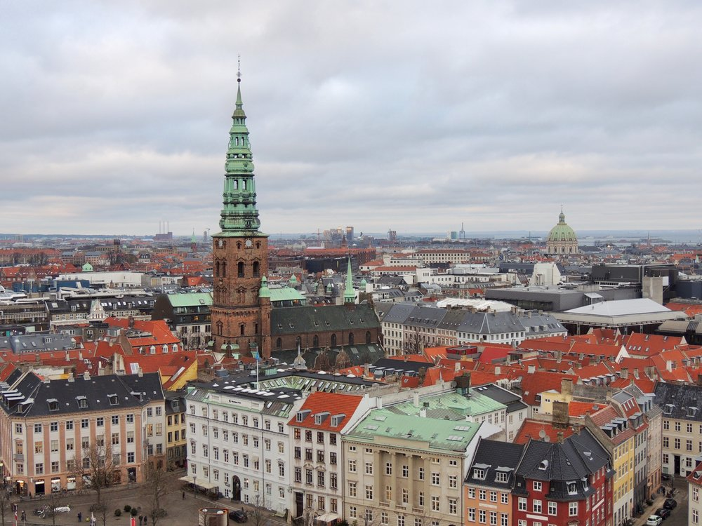 View from Christiansborg Palace