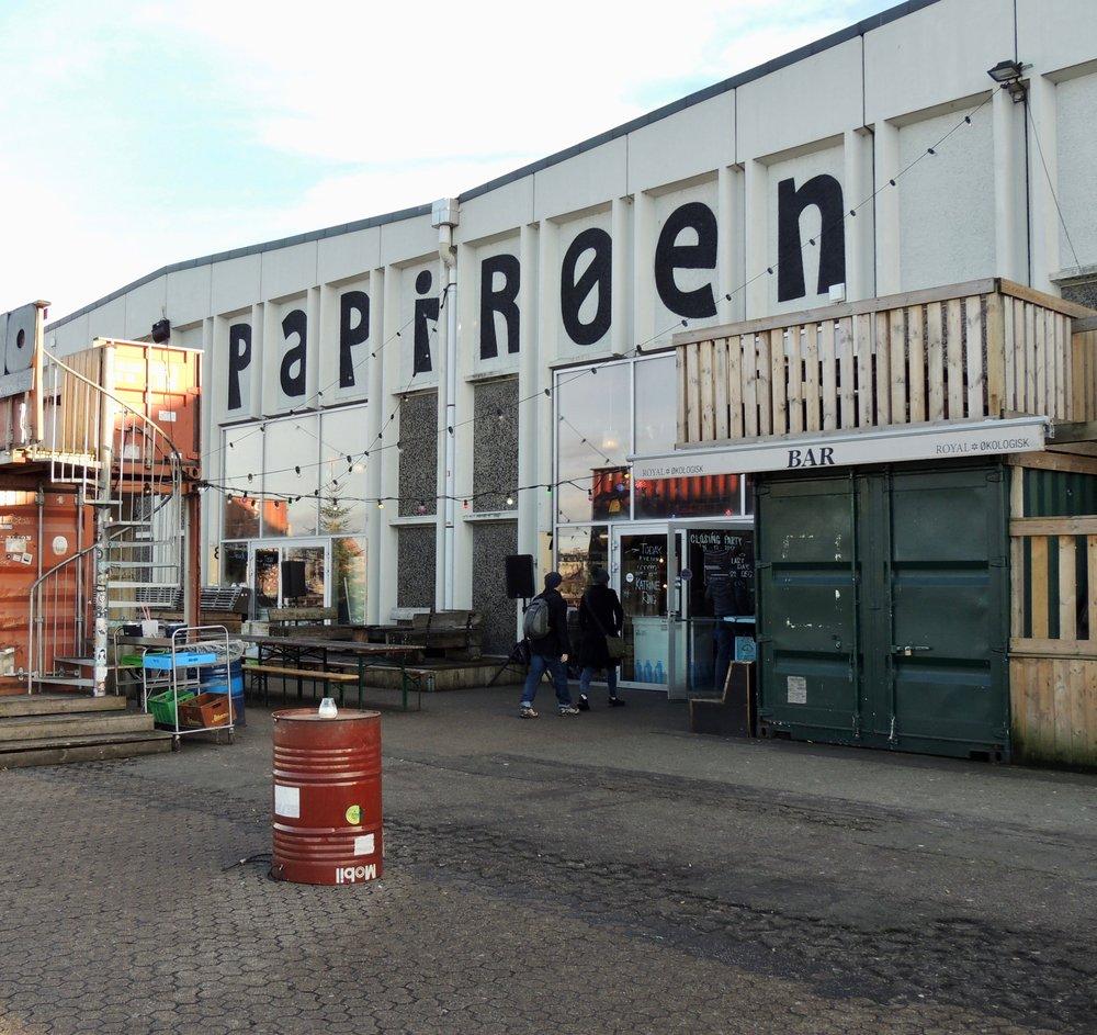 A huge warehouse home to Copenhagen Street Food