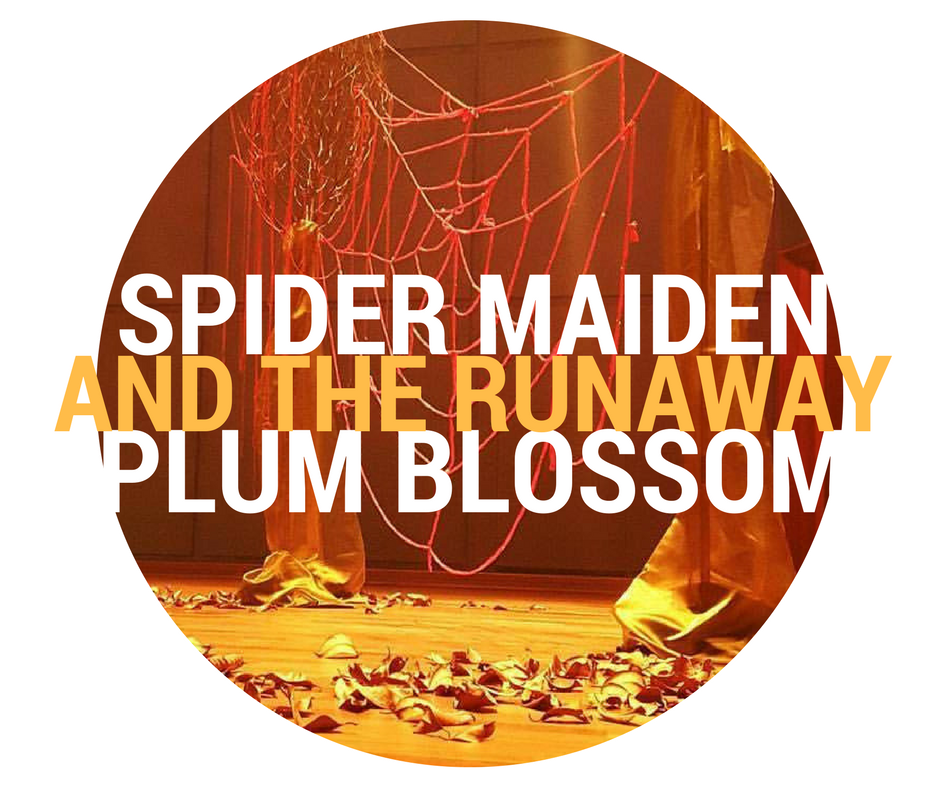 The Spider Maiden and the Runaway Plum Blossom   is a creation of Paul Smith's, written for the Kris Foundation Singapore. It had it's premiere in October 2016 at the Esplanade Theatre in Singapore.