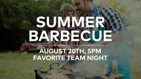 Summer is almost over and we want to get together with our Grace City Community for one more summer barbecue! This time it's all about your favorite team. Be sure to wear your jersey or team colors. Bring a dish and a friend on August 20th, to Woodbury Park from 5-8pm. We can't wait to see you there!