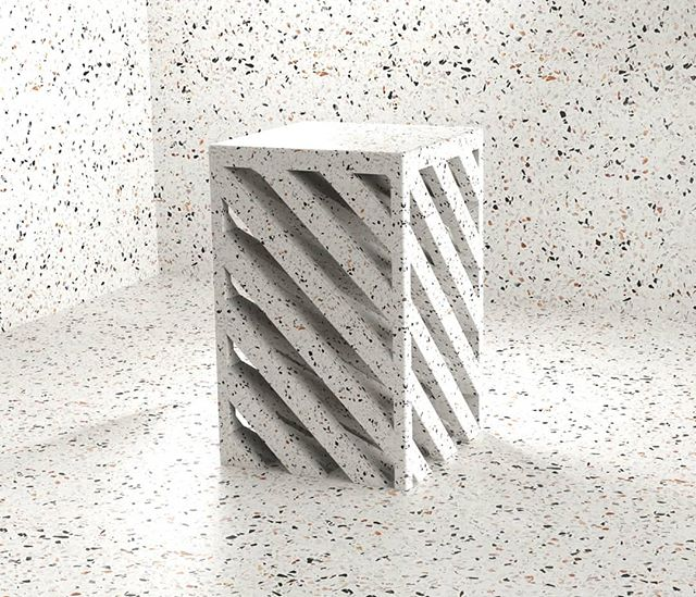 Terrazzo side table design from the weekend.  Someone please fund me to make this 😁 . . . . . . . . #design #furniture #furnituredesign #productdesign #table #interior #interiordesign #architecture #art #sculpture #render #conceptdesign #inspiration #terrazo #concrete