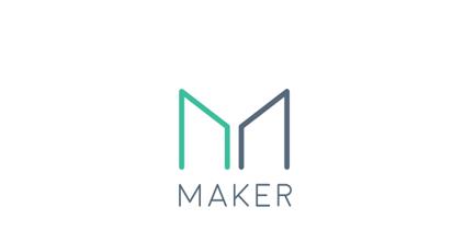 MAkerDAO logo at Worknb Cryptobank