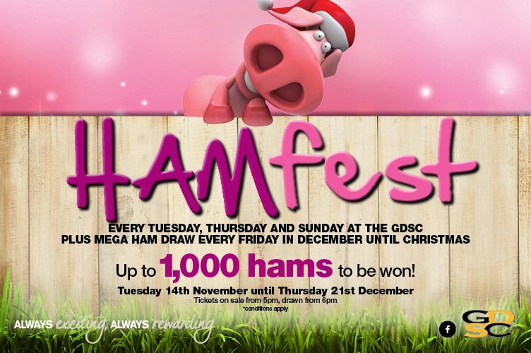 hamfest ham raffles at the GDSC