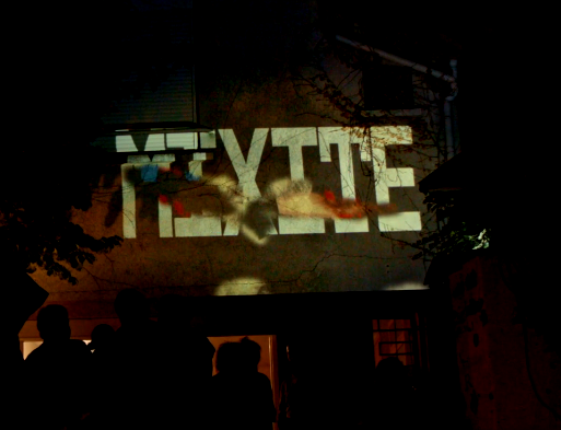 MIXITE - An interactive & immersive mapping installation in situ that celebrates people's diversity and allows the visitor to create his own work of art.
