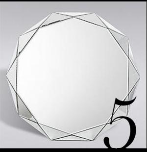 Conran Polygon Mirror Marks Spencer Top 10 Bathroom