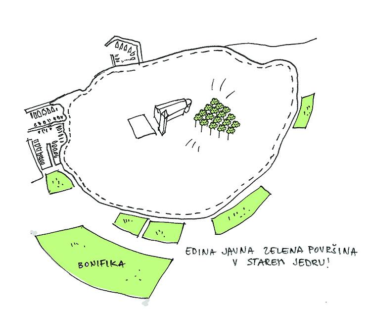 Architecture_Kombinat-Tina Rugelj_zeleni trg in mestno jedro Z NOVIMI DREVESI_Brolo square.jpg