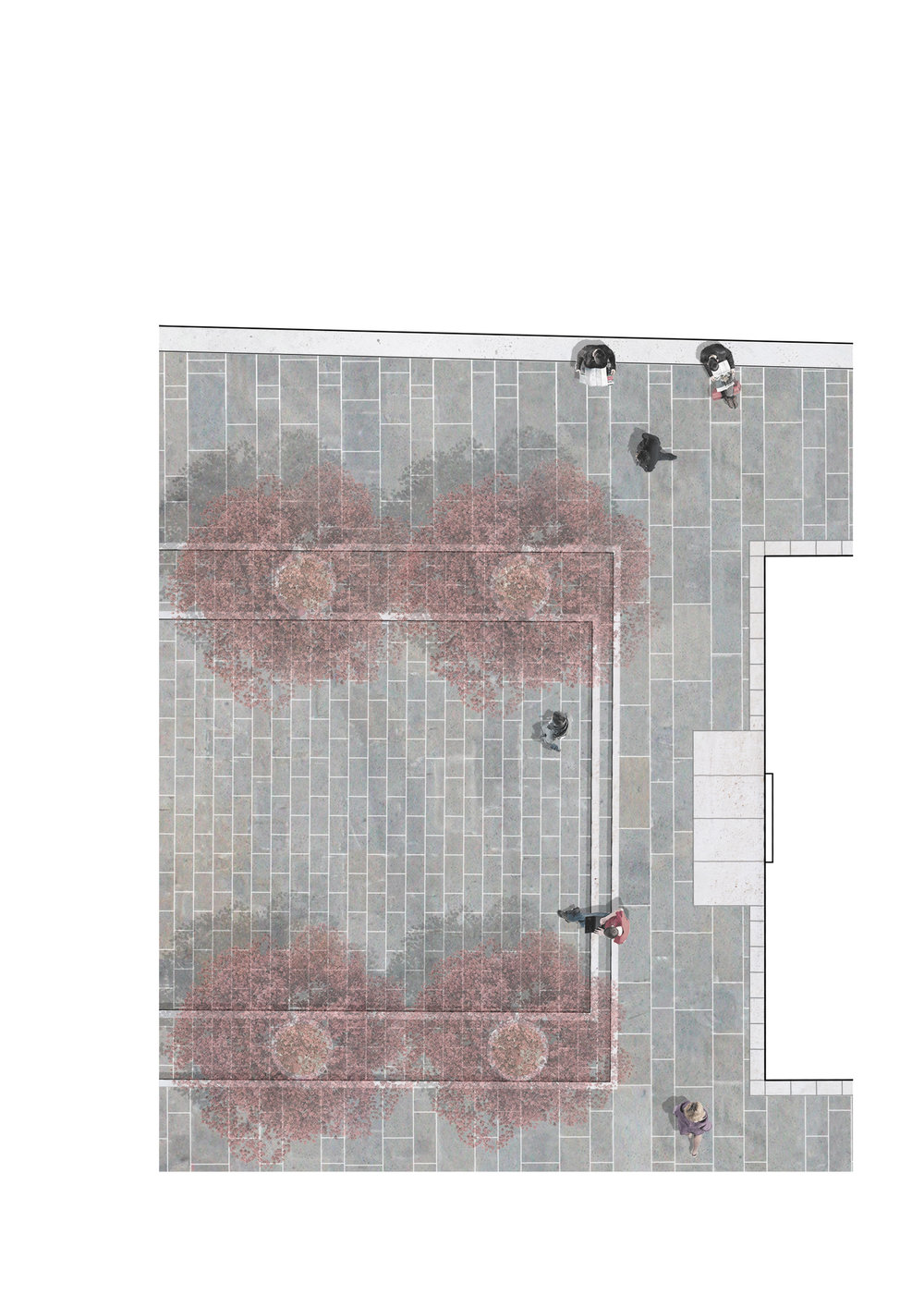 Architecture_Kombinat-Tina Rugelj_plan-infront of the church_Brolo square.jpg