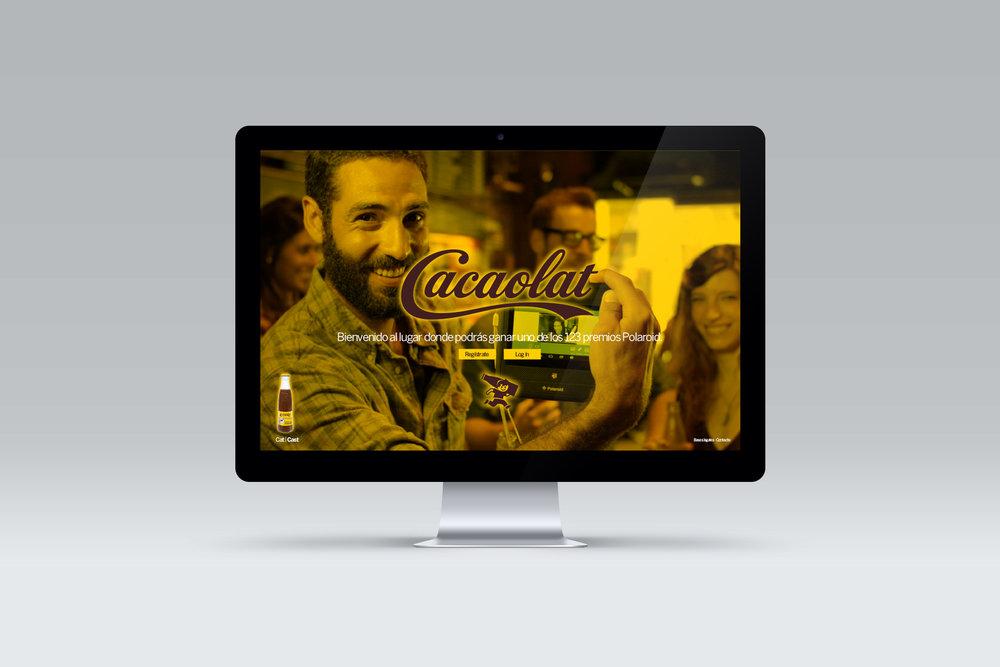 Cacaolat - Promo Polaroid