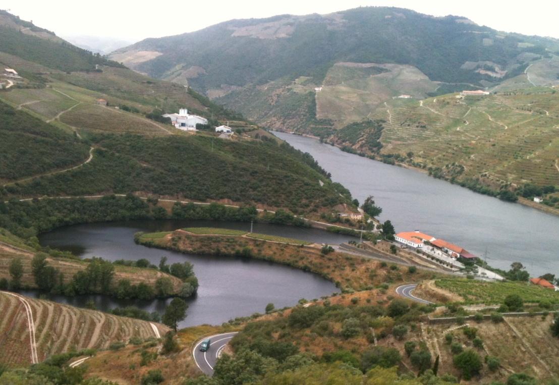 Le Tedo, le Douro et Quinta do Tedo
