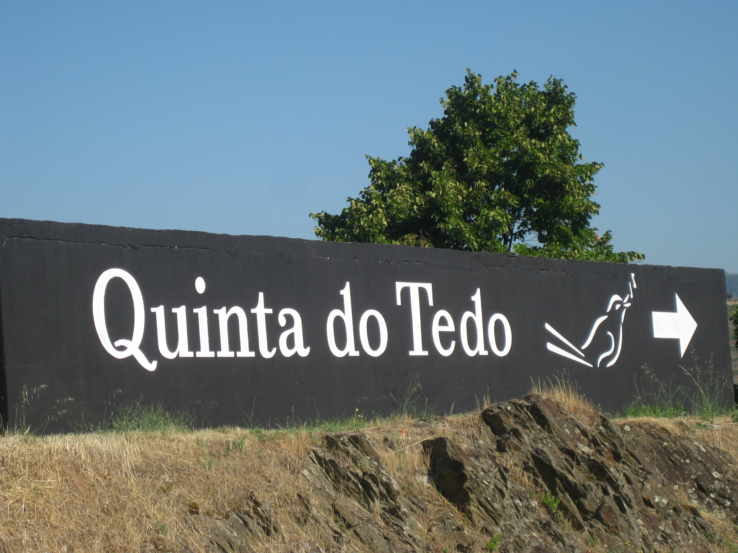 All roads lead to Quinta do Tedo!