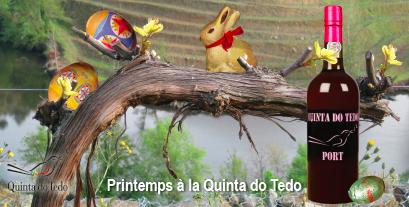 Pâques est bientôt là – célébrer avec les Portos et les vins Douro DOC de Quinta do Tedo!