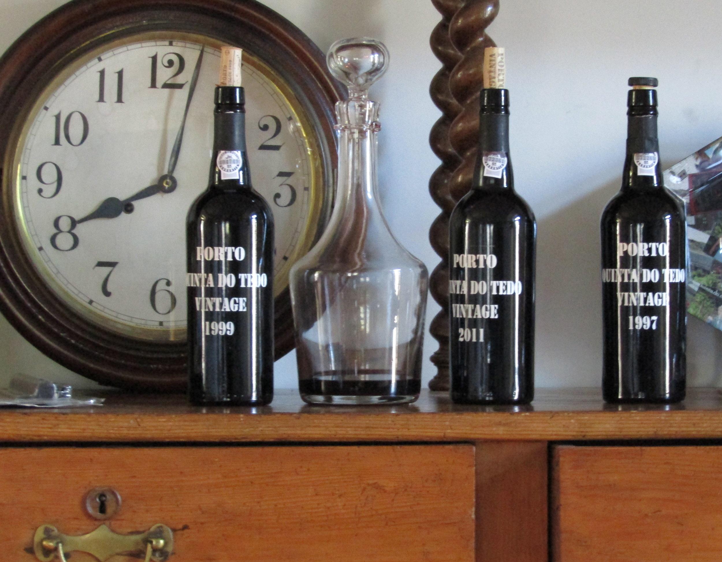 L'heure pour un verre de Porto!