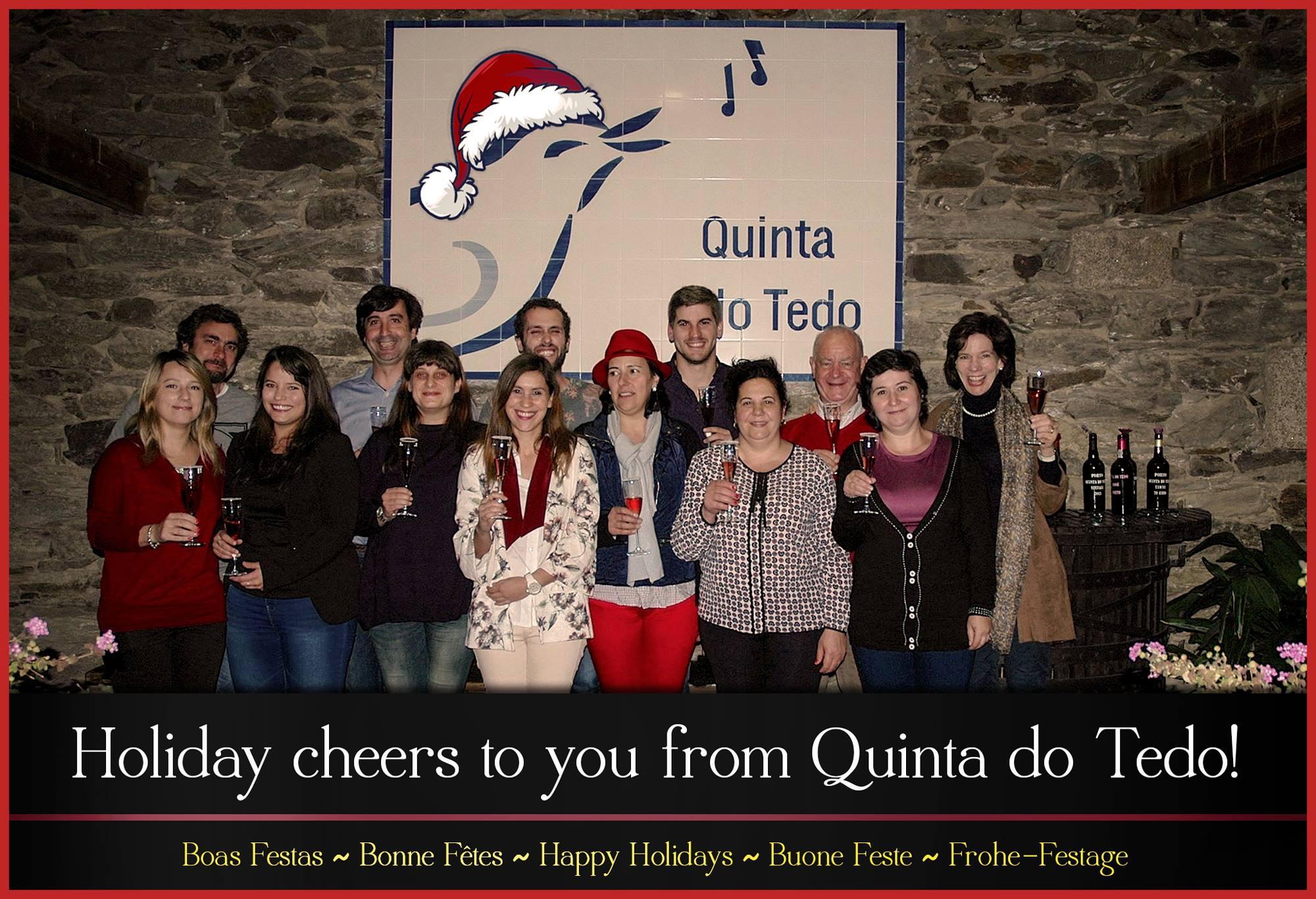 Quinta do Tedo Holiday Card