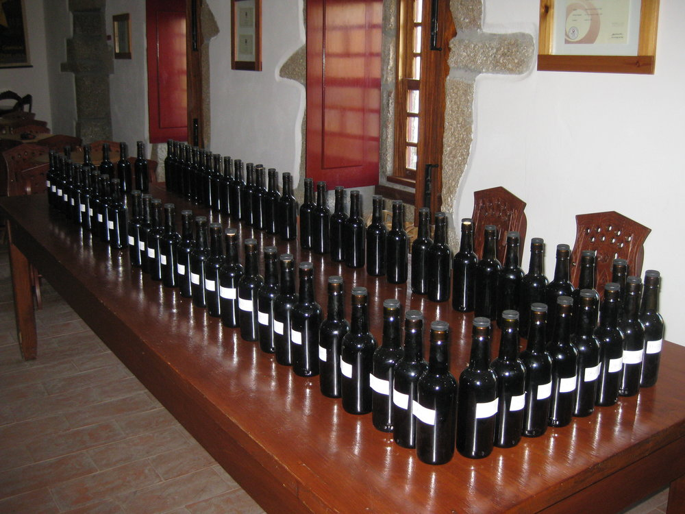 The arduous task of blending, only for the talented winemaker!