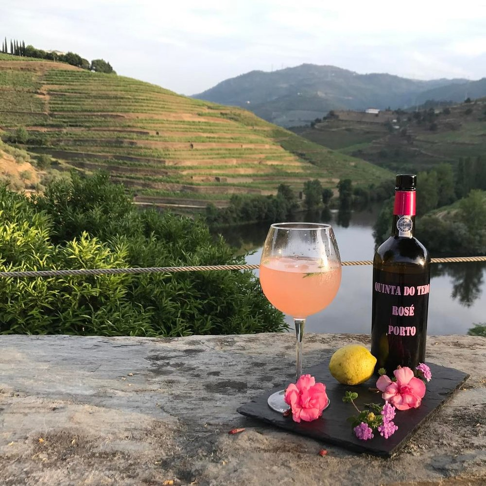 Bistro Terrace has the best views and the only Porto Rosétonic you'll find in the Douro Valley.
