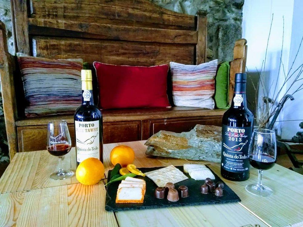 L'accord sublime - le chocolat et le fromage avec nos Portos.