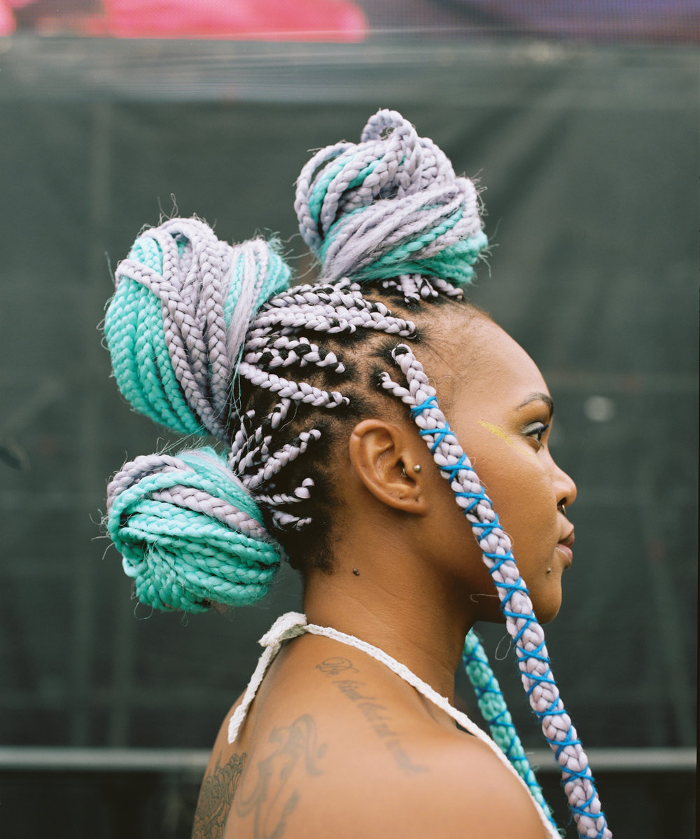 13 Natural Hairstyles from Afropunk Johannesburg to Try Now