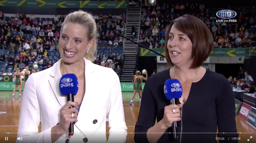 Netball Quad Series 2017 Channel 9