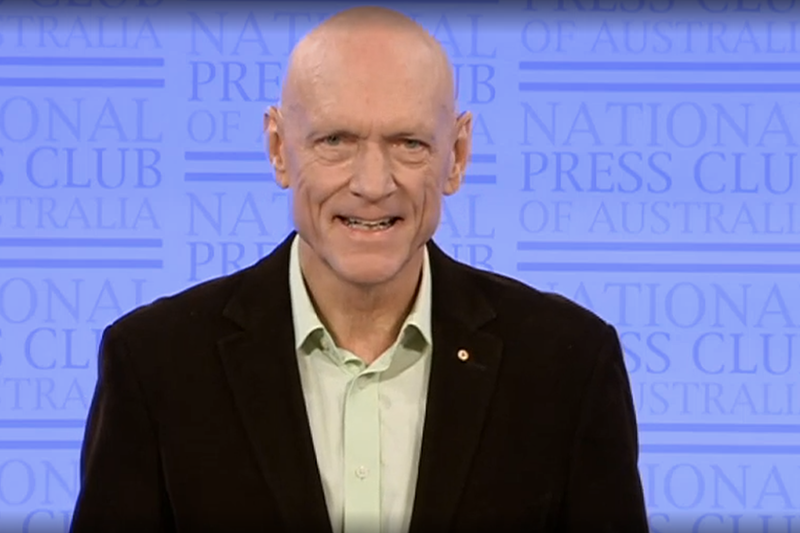 Peter Garrett National Press Club
